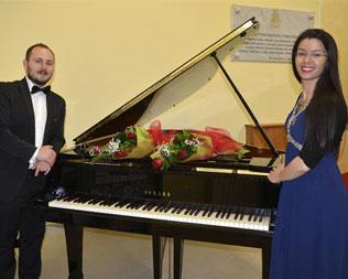 Duo Giuseppe Fusaro & Clarissa Arcuri De Rosa