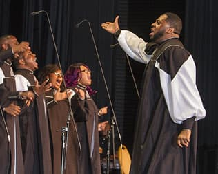 New Direction Gospel Choir Tennessee State