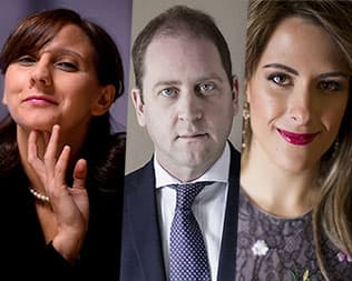 Trio Francesca Dego, Martin Owen, Maria Perrotta