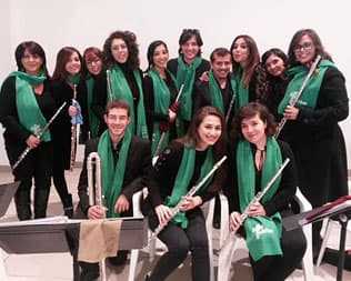 Veipo Flute Choir and Vocal Ensemble